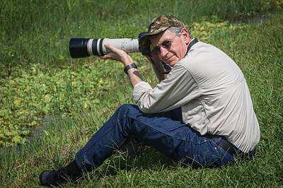 Photograph - Capt. Greg At Jefferson Island by Gregory Daley  PPSA