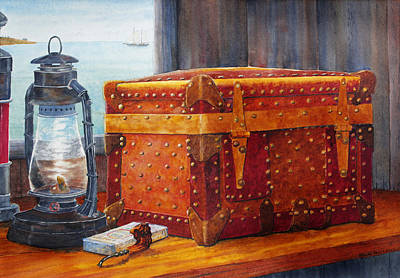 Painting - Capt. Murray's Chest by Roger Rockefeller