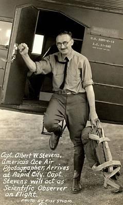Captain Albert Stevens Art Print