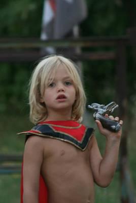 Photograph - Captain America Growing Up by Phoenix De Vries