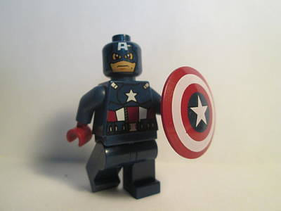 Photograph - Captain America by Harrison Matlock