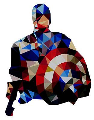 Captain America Original by Ian  King