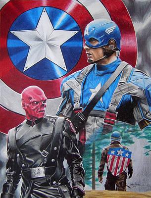 Captain America Original by Joseph Christensen