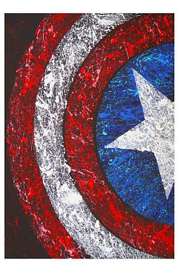 Captain America  Original by Tony Herrera