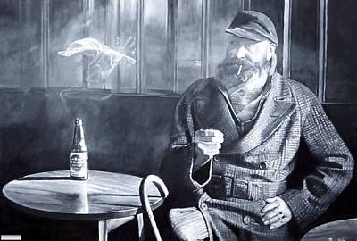 Captain Birdseye, 2008 Oils Print by Kevin Parrish
