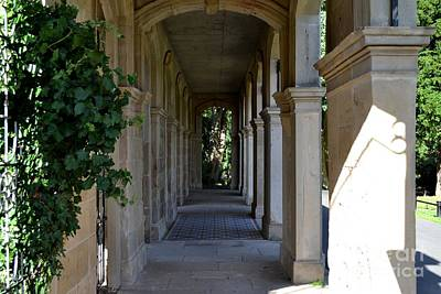Photograph - Captain Cook Museum Walkway by Scott Lyons