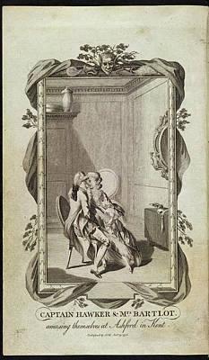 Captain Hawker And Mrs Bartlot Art Print
