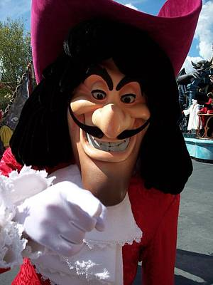 Photograph - Captain Hook by Georgia Hamlin