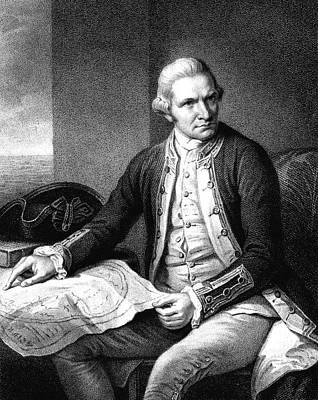 Captain James Cook Art Print by Collection Abecasis