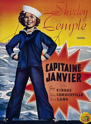 Captain January Aka Capitaine Janvier Art Print by Everett