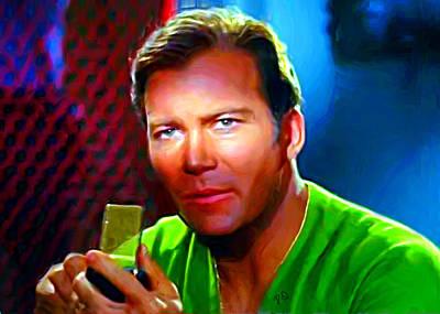 Captain Kirk Art Print