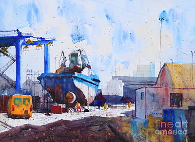 Captain Louis Thomas Art Print by Andre MEHU