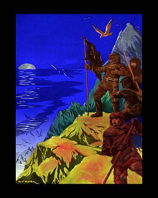Captain Nemo Unfurled Art Print by Jason Edwards