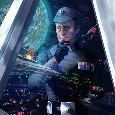 Wall Art - Digital Art - Captain Piett by Ryan Barger