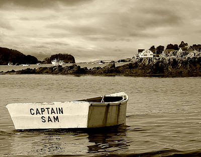 Photograph - Captain Sam by Jon Exley