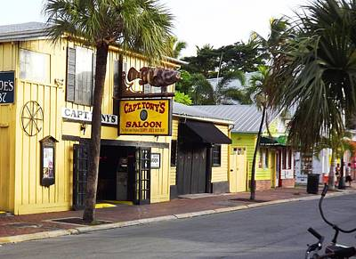 Photograph - Captain Tony's Key West by Jeanne Donnelly