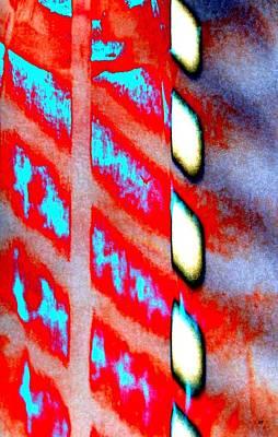 Digital Art - Captivante Abstrait En Rouge by Will Borden