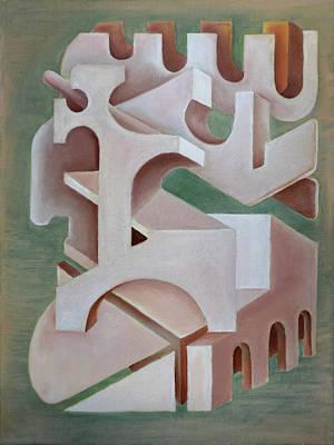 Painting - Captivated By Paradox by Siyavush Mammadov