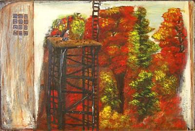 Painting - Captive by Michael Anthony Edwards