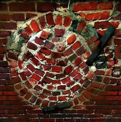 Mortar Digital Art - Captive Sun by RC deWinter