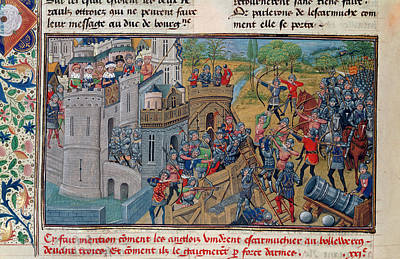 Capture Of A Bastion At Troyes Art Print
