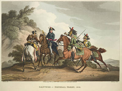 Capture Of General Paget Art Print by British Library