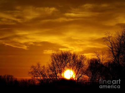 Photograph - Capture Silhouette by Scott B Bennett