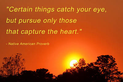 Photograph - Capture The Heart by Beth Sawickie