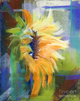 Captured Sunlight Art Print by Tracy L Teeter
