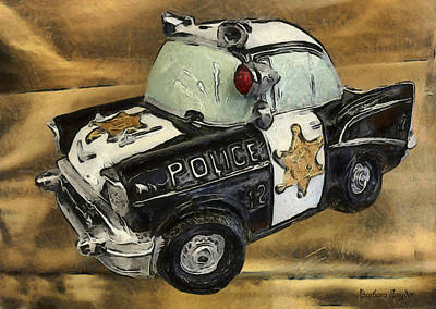 Car 12 Where Are You Print by Barbara Snyder