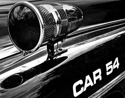 Photograph - Car 54 001 by Jeff Stallard