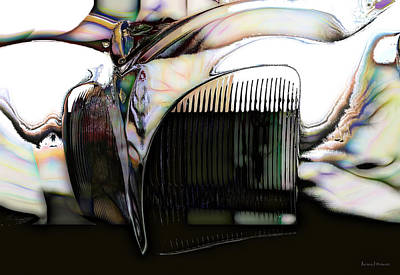 Barrett Jackson Wall Art - Photograph - Car Abstract by Barbara D Richards