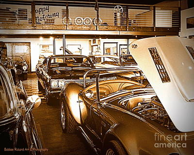 Photograph - Car Collecting Series 3 by Bobbee Rickard
