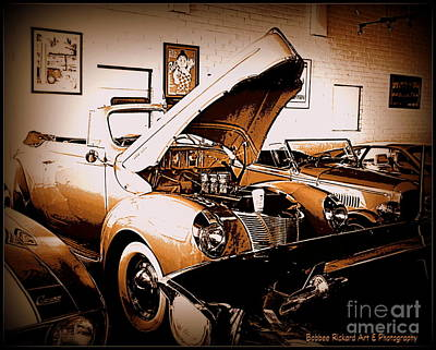 Photograph - Car Collection Series 1 by Bobbee Rickard