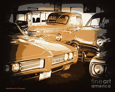 Photograph - Car Collection Series 4 by Bobbee Rickard