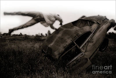 Photograph - Car Crash - 03 by Gregory Dyer