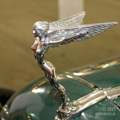 Photograph - Car Emblem 2 by Pamela Walrath