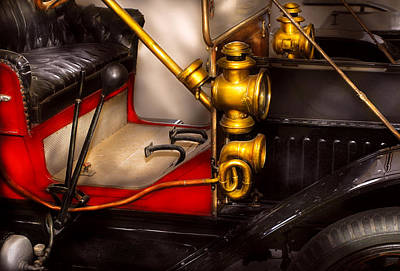 Car - Model T Ford  Art Print by Mike Savad