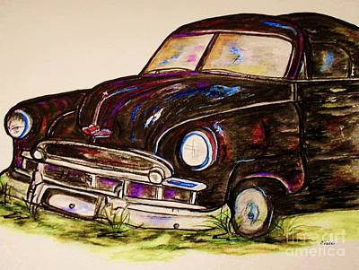 Car Of Character Original by Eloise Schneider