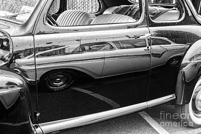 Photograph - Car Reflection by Sonya Lang