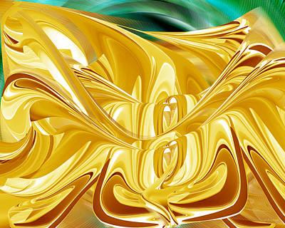 Digital Art - Caramel Flood by Roy Erickson
