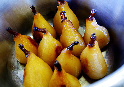 Photograph - Caramel Pears by Selke Boris