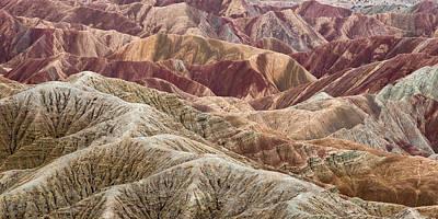 Caramelized Landscape Art Print