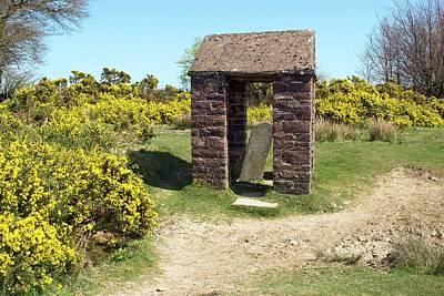 Exmoor Photograph - Caratacus Stone by David Aubrey
