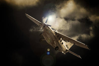 South African Air Force Photograph - Caravan Light by Paul Job