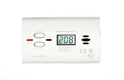 Carbon Monoxide Alarm Art Print