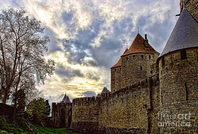 Photograph - Carcassone Medieval City by Alexandra Jordankova