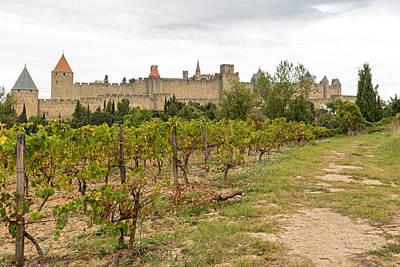 Photograph - Carcassonne Castle by Marek Poplawski