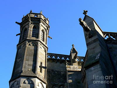 Carcassonne Photograph - Carcassonne's Cathedral by France  Art