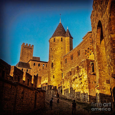 Carcassonne Art Print by Colin and Linda McKie